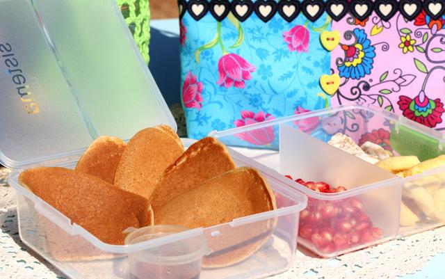 פנקייק מקמח מלא, חביתיות מקמח כוסמין, מזון על, אוכל בריא, רעיונות במקום כריך לבית הספר